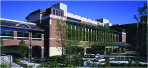 Evanston hospital parking garage lobby for Garage builders evanston il